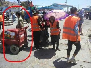 Il finto carretto con gelati che per gli attivisti conteneva invece armi