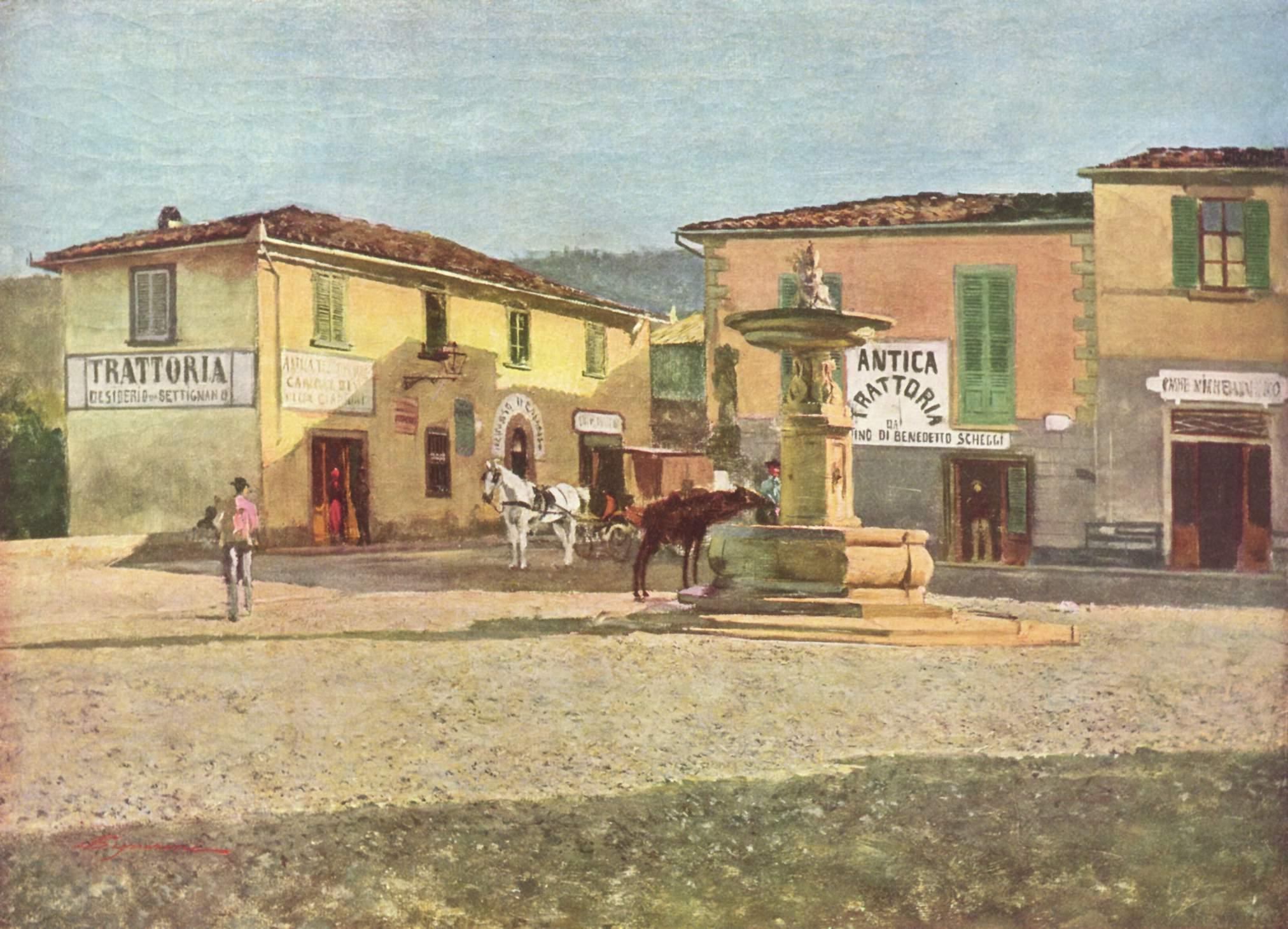 Dipinto di Telemaco Signorini
